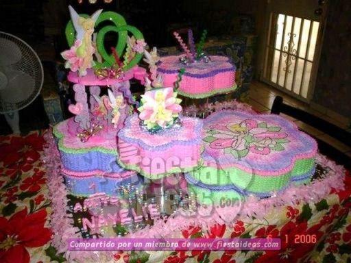 20 ideas para decoracion de tortas de Campanita - tinkerbell-004_min