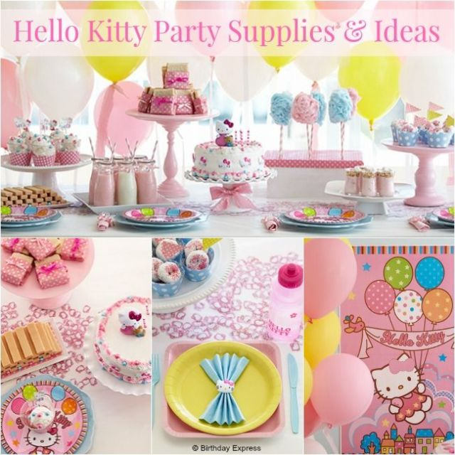 Ideas y articulos de fiesta hello kitty-fiestaideasclub