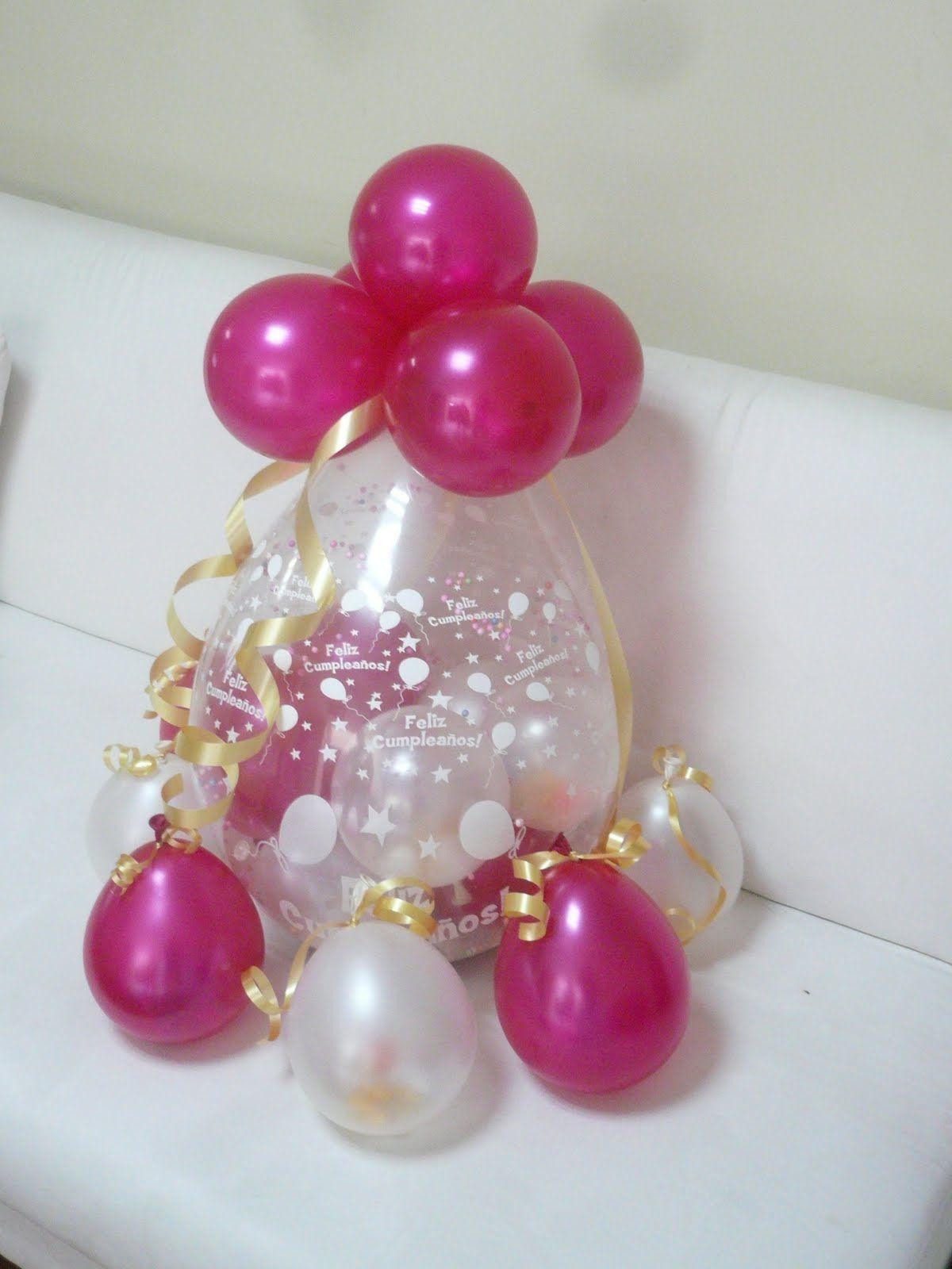 Como hacer columnas de globos para fiestas infantiles