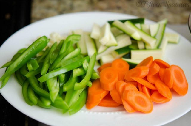 vegetables for chicken stir fry