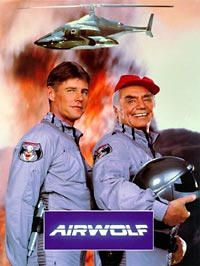 Poster from Airwolf