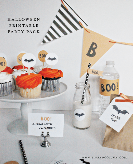 Halloween Party Printables!
