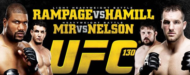 UFC 130: Quick Results (Live) photo