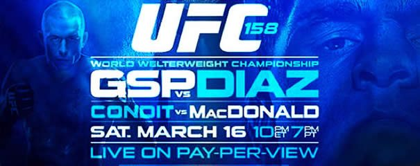 UFC 158: Pre Fight Press Conference Notes photo