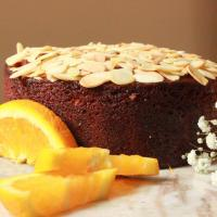 Almond Cake With Orange Flower Water Syrup