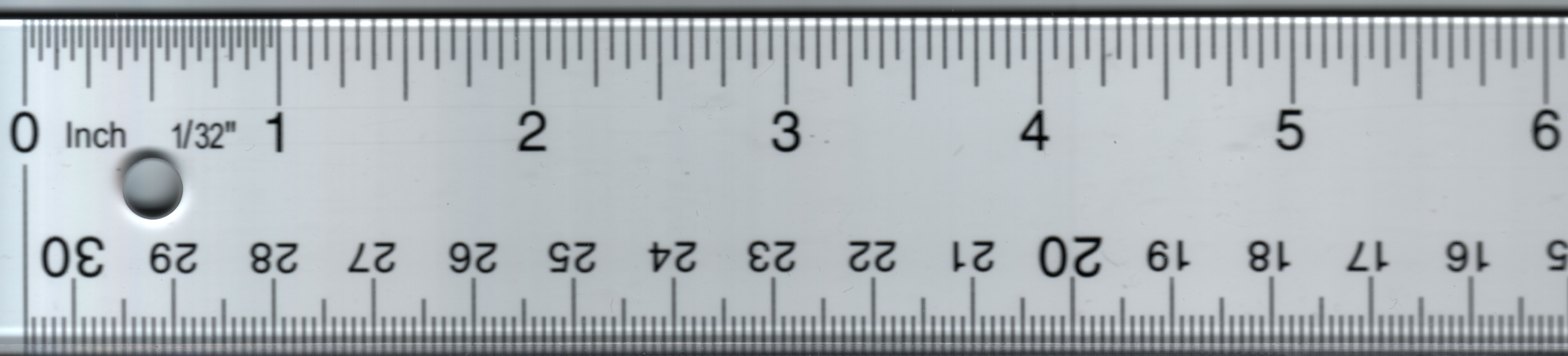 Inches Ruler Actual Size Mm size chart related keywords ...