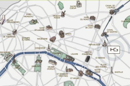 map marais