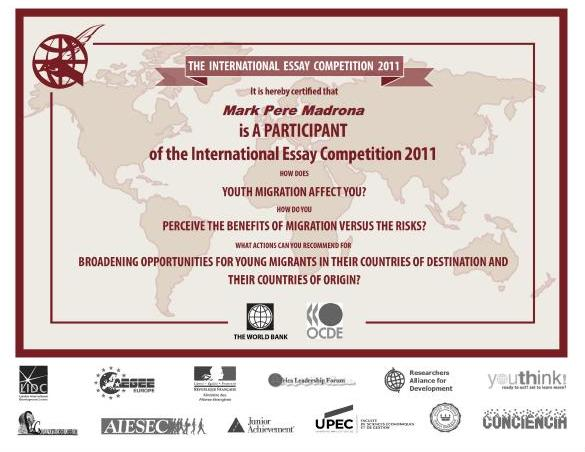 world bank international essay competition 2012