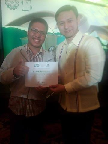 mark madrona and senator sonny angara