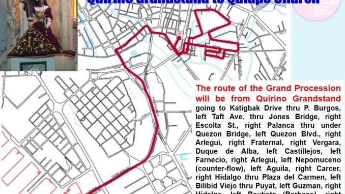 traslacion 2015 route