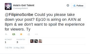 asia's got talent leakage