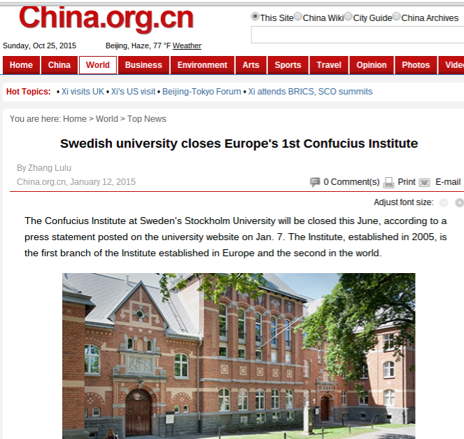 confucius institute in europe