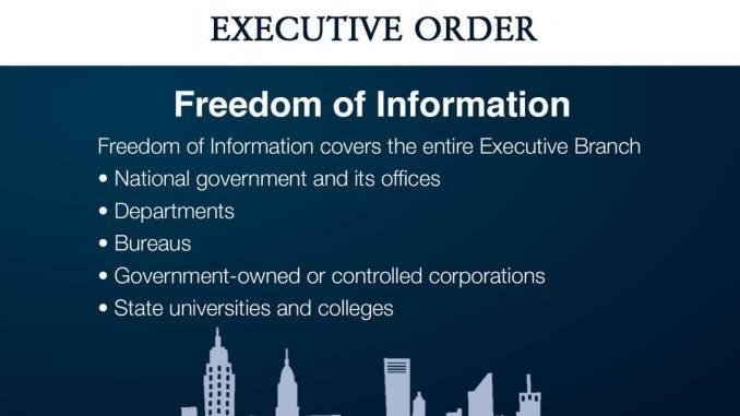 duterte EO freedom of information