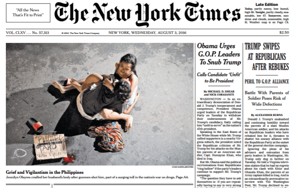 rodrigo duterte new york times