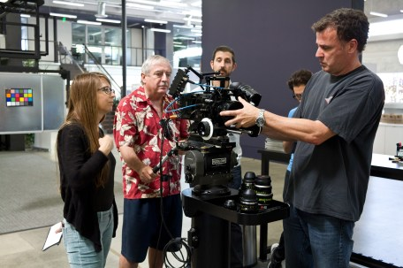 Panasonic Varicam Workshop at Keslow Camera. Film Digital Times