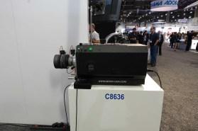 Gecko-Cam large format lens projector