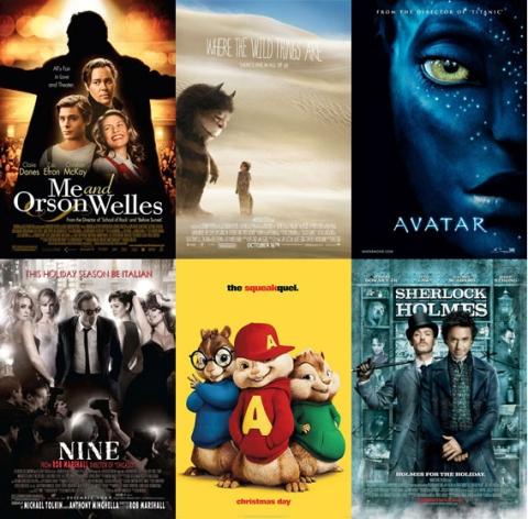 UK Cinema Releases December 2009