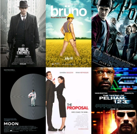 UK Cinema Releases July 2009