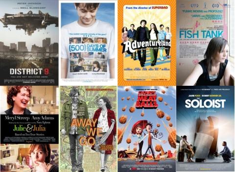UK Cinema Releases September 2009