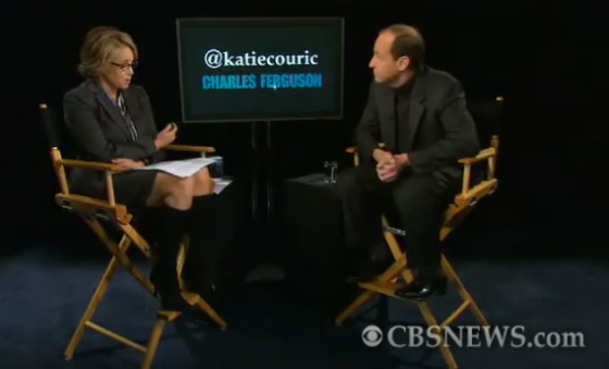 Katie Couric and Charles Ferguson on CBS