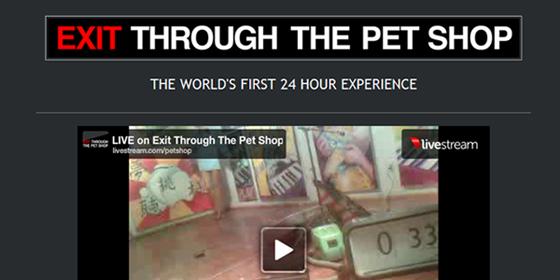 Exit Through The Pet Shop