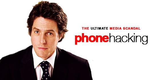 Hugh Grant on phone hacking