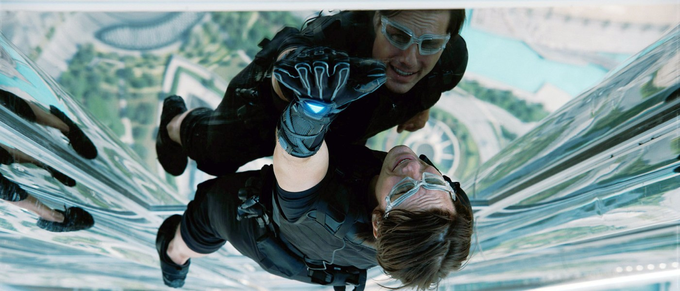 The enduring action hero of Tom Cruise