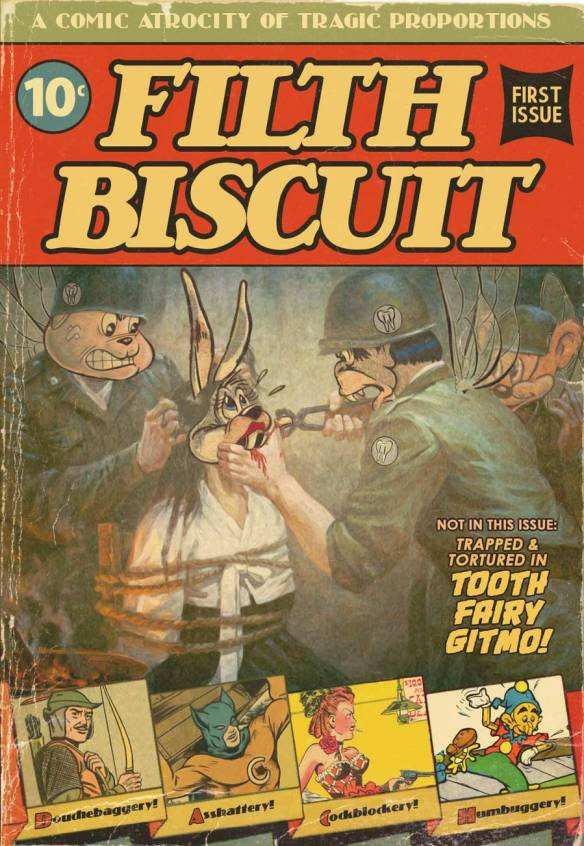 Filth Biscuit: Soul-Stomping First Issue!