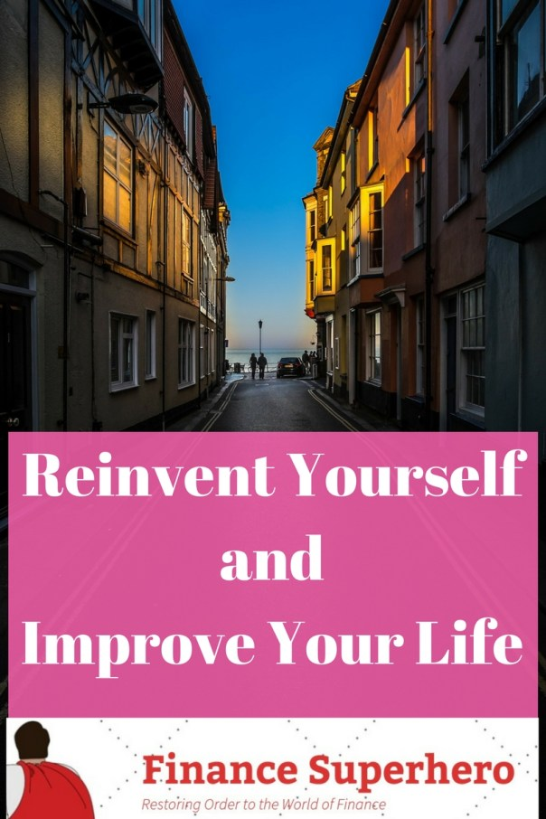 Life is not always kind. When adversity slams the door in your face, you can give up or choose to reinvent yourself and improve your life.