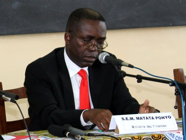 Matata Ponyo, ministre des finances de la RDC. Radio Okapi/ Ph. John Bompengo