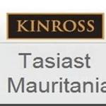 Rectificatif: Kinross Tasiast n'est plus actionnaire de la SPEG