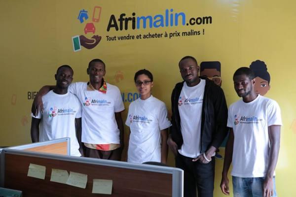 L'équipe Afrimalin à Conakry - ©Afrimalin
