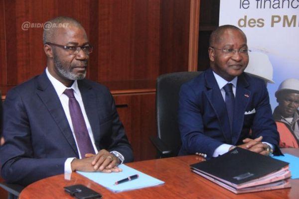 Les directeurs généraux de Saham Assurance Vie et de Versus Bank