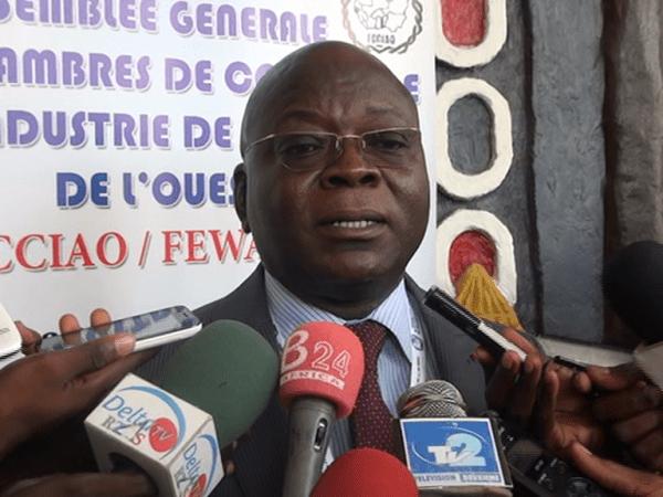 Germain Meba, nouveau président de la Fédération des chambres de commerce et d'industrie de l'Afrique de l'Ouest (FCCIAO)