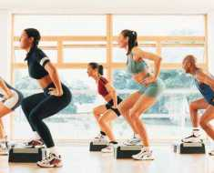 step aerobics lose weight