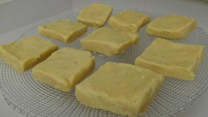 Milk made sweets