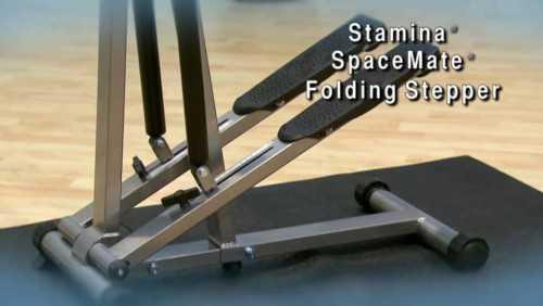 Stamina SpaceMate Folding Step Machines