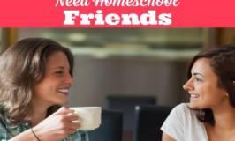 Why Homeschool Moms need Homeschool Friends