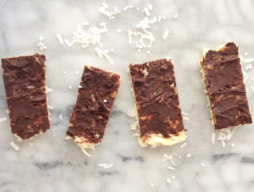 Coconut Mounds Protein Bars