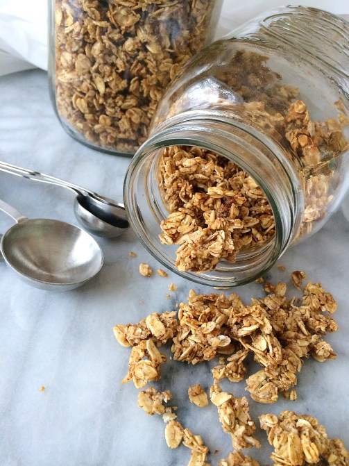 recipe for cinnamon french toast granola