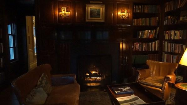 Cozy Reading Room at Mayflower Grace Inn