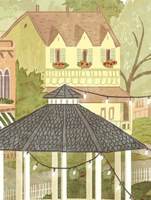 Stars Hollow Poster Close Up of Dragonfly Inn