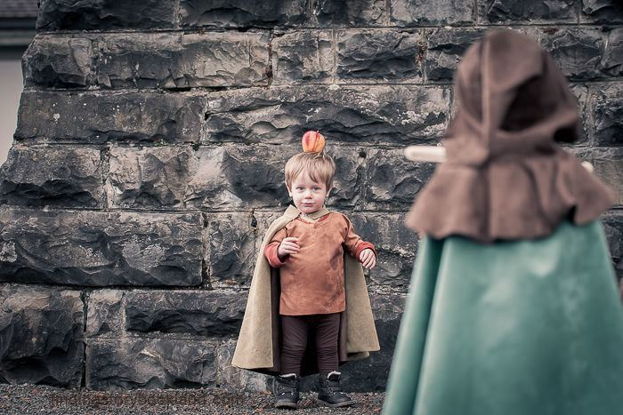 William Tell Themed Children's photo session