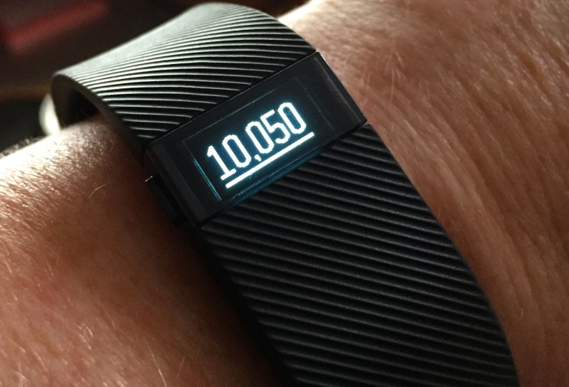 image of Fitbit at 10k steps