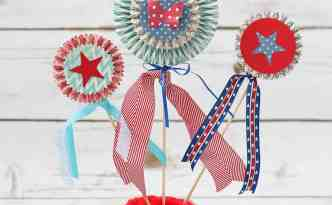 Paper Patriotic Decor - Finding Time To Create
