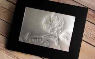 Stippled metal art by Kelly Wayment | Silhouette Curio