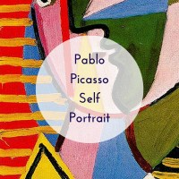 Easy Art Projects for Kids - Pablo Picasso Self Portrait
