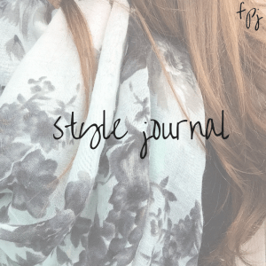 fine print journaling: style journal