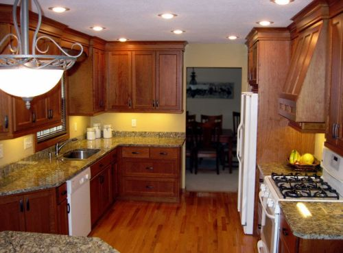 Medium Of Cherry Kitchen Cabinets