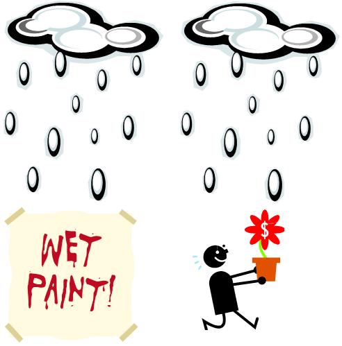 Rainfall - Disadvantage Advantage